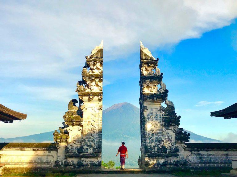 Gateway to Heaven in Bali